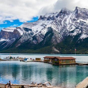 Lake Minnewaka, Alberta, Canada