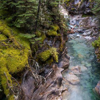 Johnston Canyon, Alberta, Canada