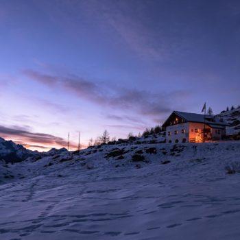 Rifugio Città di Fiume, Dolomites, Italy