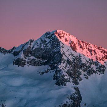 Enrosadira, Dolomites