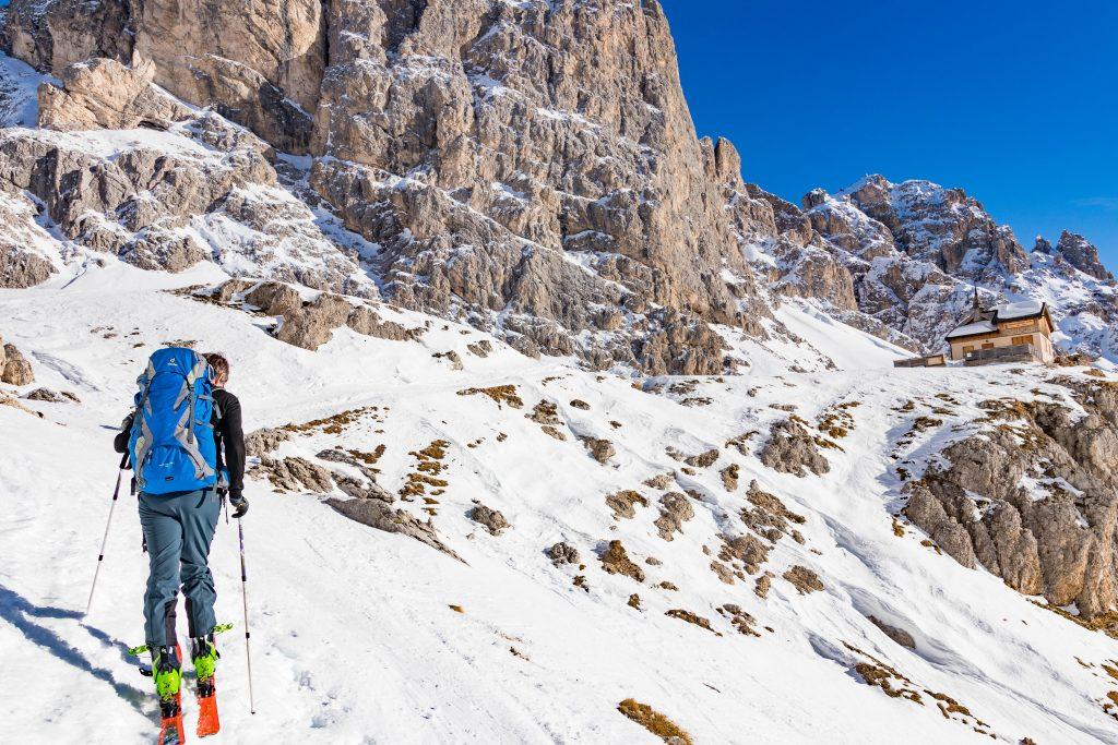 Rifugio Vajolet, Dolomites, Italy