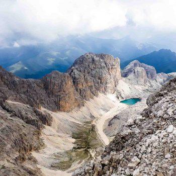 Antermoia Lake-Dolomites