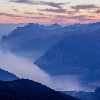 Lago di Garda Monte Stivo