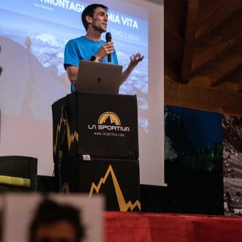 Evento Hervè Barmasse Val di Fassa